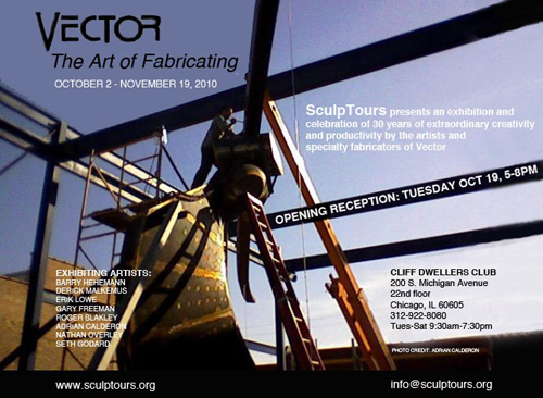 2010 Exhibition: Vector- The Art of Fabricating