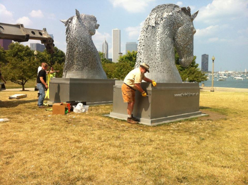 2012: Kelpies - by Andy Scott