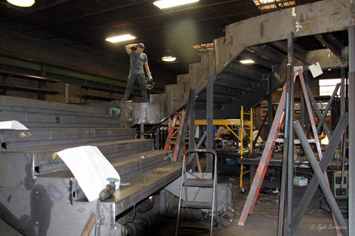 Fabrication of Staircase