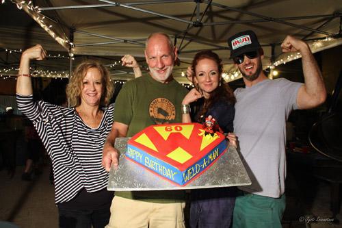 Barry 's 60th Birthday bash