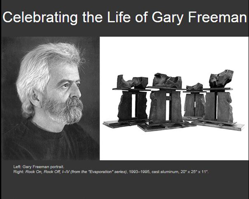 Gary Freeman Remembrance