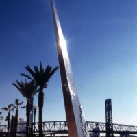 2002: Fire Monument  - by Bruce White