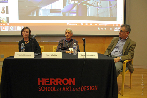 Panel discussion with  Dean Valerie Eickmeier,  Steve Mueller and John Himmelfarb