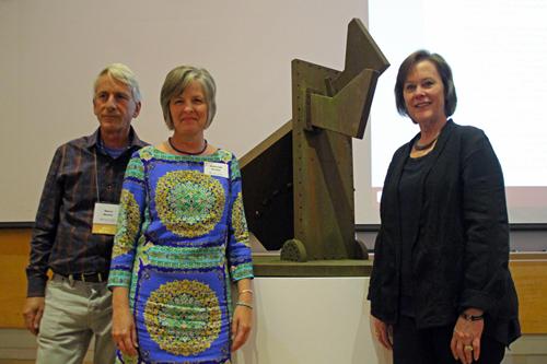 Steve Mueller, Debbie Mueller and Dean Valerie Eickmeier