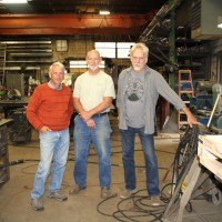 Co-Founders of Vector Steve Mueller, Barry Hehemann, and Mike Wilkie
